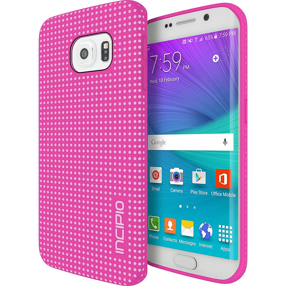 Incipio Highwire for Samsung Galaxy S6 Edge Pink/Light Pink - Incipio Electronic Cases - Technology, Electronic Cases