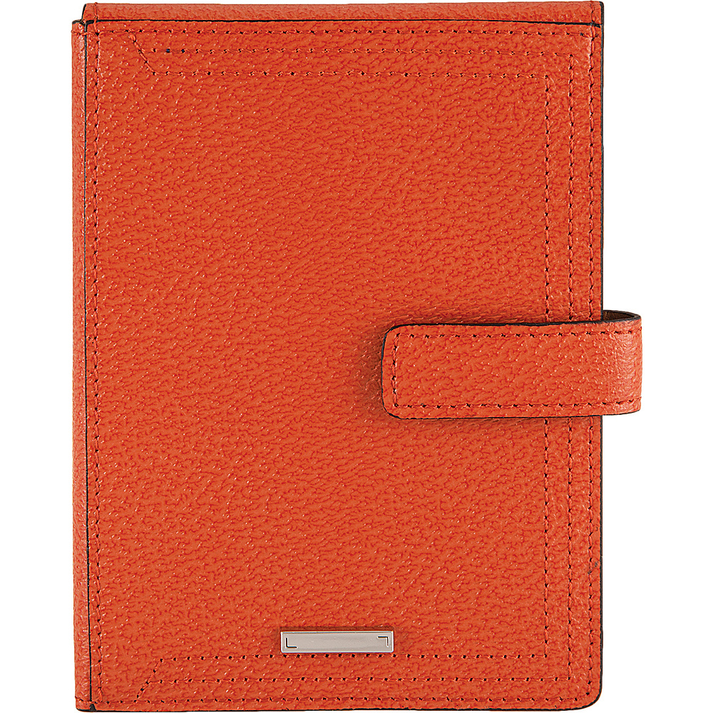 Lodis Stephanie RFID Passport Wallet Orange - Lodis Travel Wallets - Travel Accessories, Travel Wallets