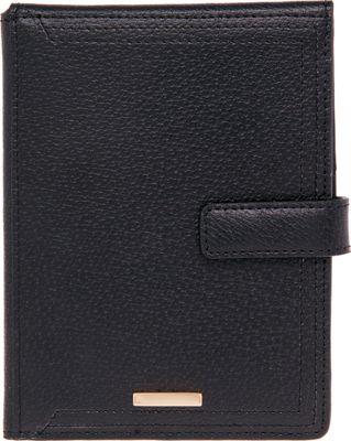 Lodis Stephanie RFID Passport Wallet Black - Lodis Travel Wallets