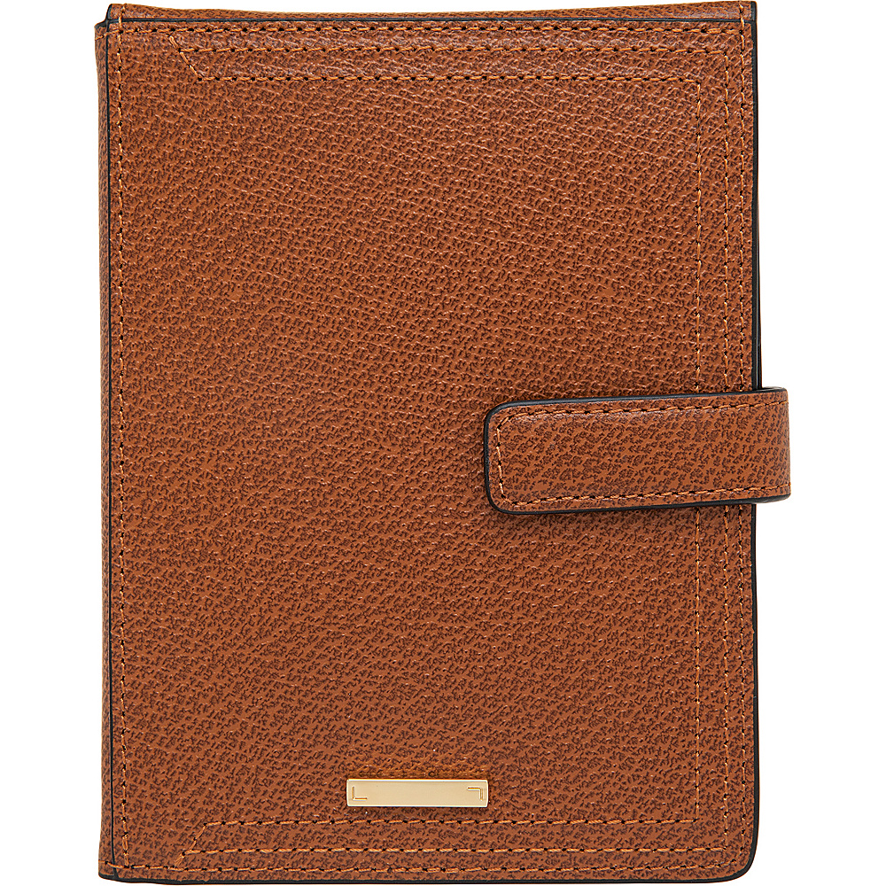 Lodis Stephanie RFID Passport Wallet Chestnut Lodis Travel Wallets