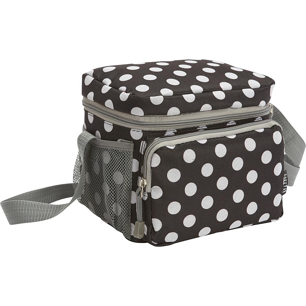 Everest Cooler/Lunch Bag Black/White Dot - Everest Travel Coolers - Travel Accessories, Travel Coolers