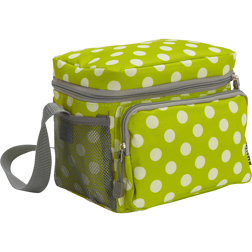 Everest Cooler/Lunch Bag Lime/White Dot - Everest Travel Coolers - Travel Accessories, Travel Coolers