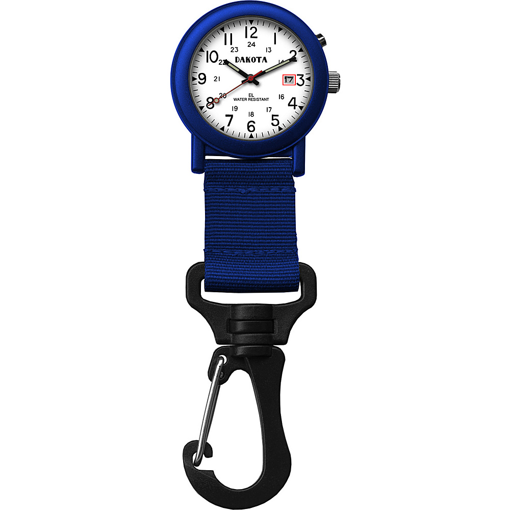 Dakota Watch Company Light Backpacker Watch Blue with Black and White - Dakota Watch Company Watches