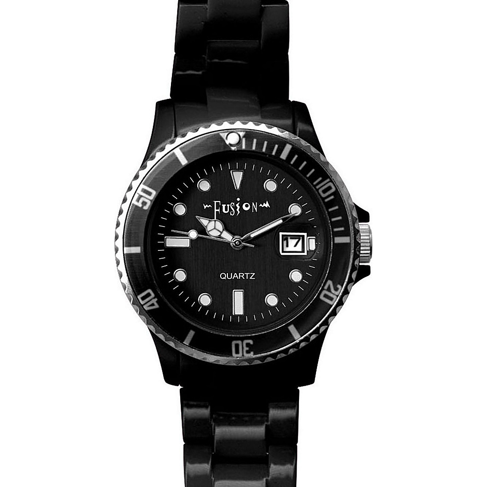 Dakota Watch Company Fusion Color Link Watch Black - Dakota Watch Company Watches