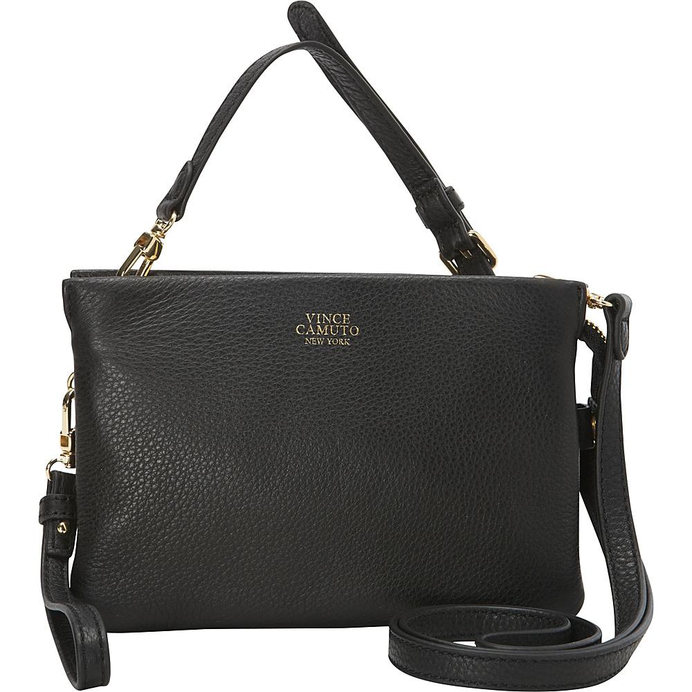 Vince Camuto Cami Crossbody Black Vince Camuto Designer Handbags