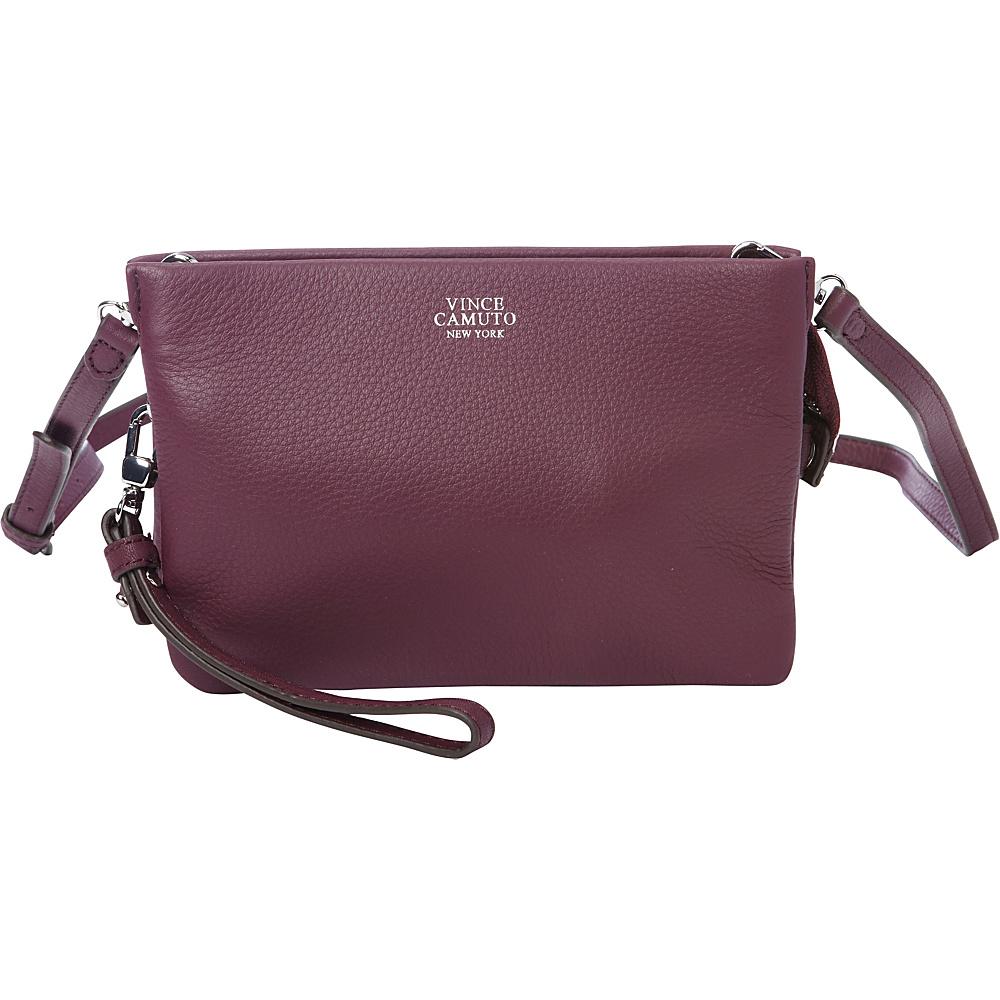 Vince Camuto Cami Crossbody Berry Wine Vince Camuto Designer Handbags