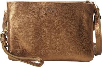 Vince Camuto Cami Crossbody Vintage Brass - Vince Camuto Designer Handbags
