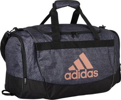 adidas Defender II Medium Duffel Black Jersey/Black/Bronze - adidas Gym Duffels 10570276