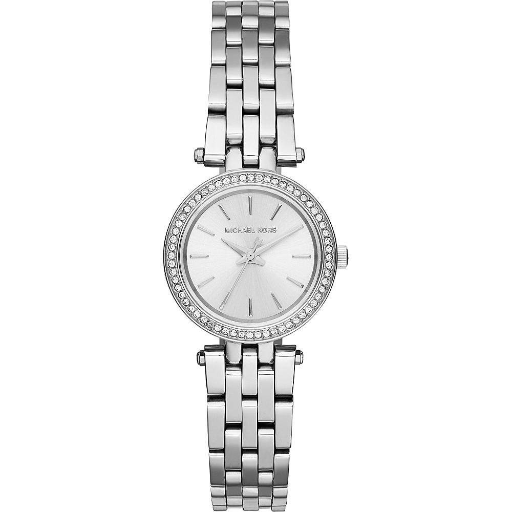 Michael Kors Watches Petite Darcy Three Hand Stainless Steel Watch Silver Michael Kors Watches Watches