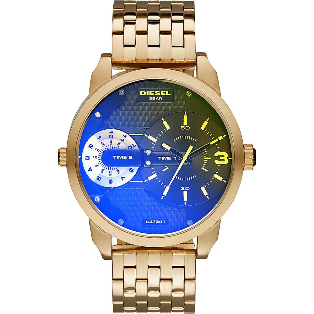 Diesel Watches Mini Daddy Stainless Steel Watch Gold - Diesel Watches Watches