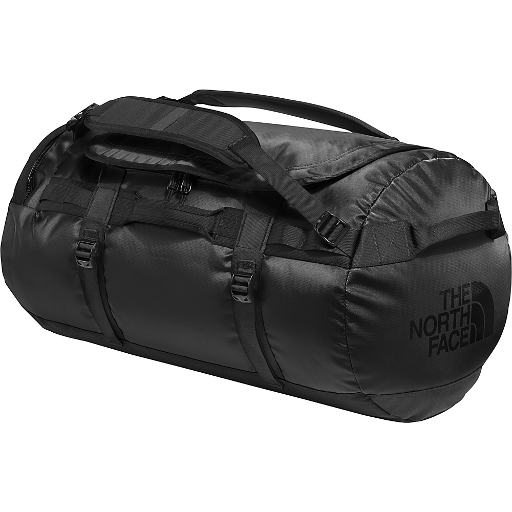 The North Face Base Camp Duffel Medium Tnf Black Emboss/24k Gold - The North Face Outdoor Duffels - Duffels, Outdoor Duffels