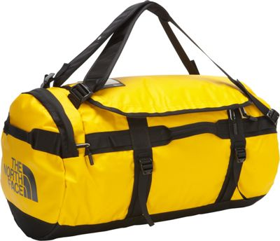 The North Face Base Camp Duffel Medium Summit Gold/TNF Black - M - The North Face Outdoor Duffels