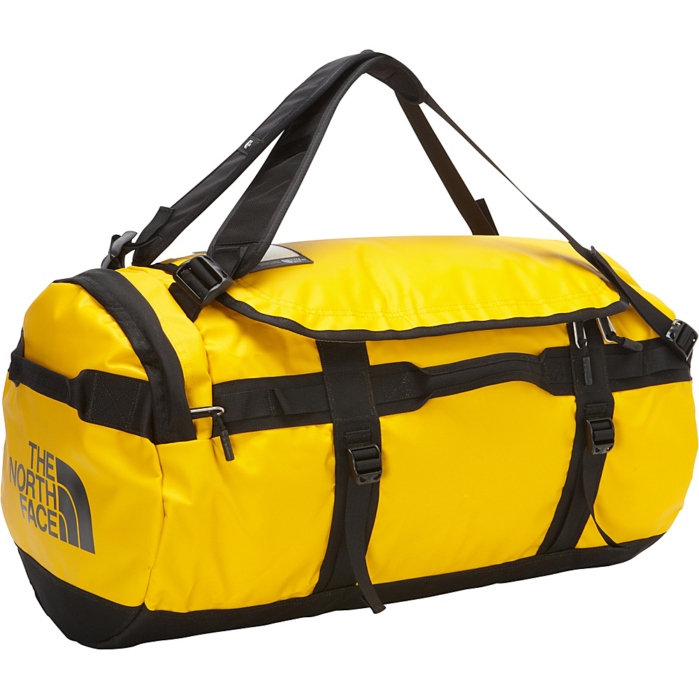 The North Face Base Camp Duffel Medium Summit Gold/TNF Black - M - The North Face Outdoor Duffels - Duffels, Outdoor Duffels