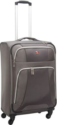 Wenger Travel Gear Monte Leone 20 inch Spinner Grey - Wenger Travel Gear Softside Carry-On