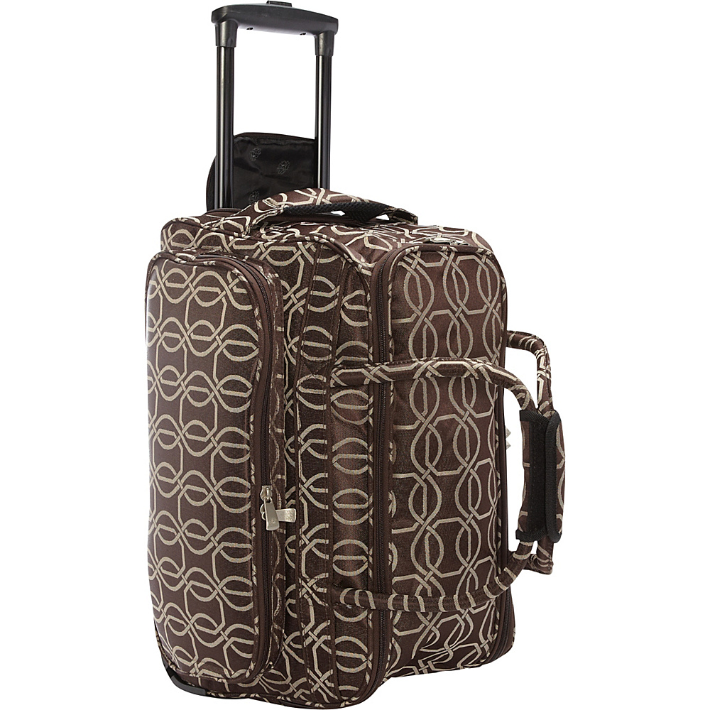 Jenni Chan Links Soft Carry All Duffel Brown Jenni Chan Rolling Duffels