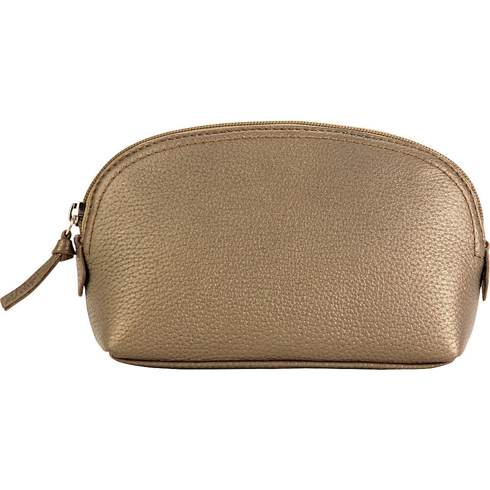 Hadaki Cosmetic Pouch Bronze - Hadaki Womens SLG Other - Women's SLG, Women's SLG Other