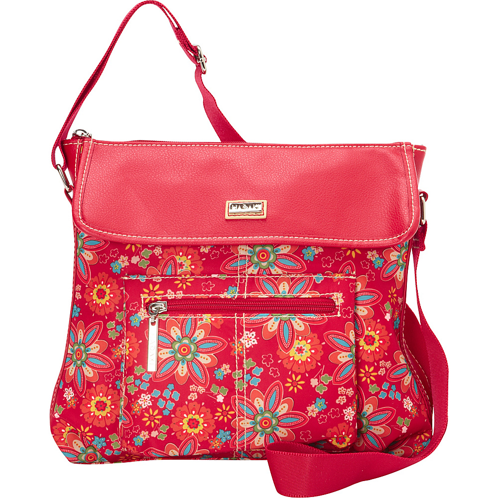 Hadaki Manhattan Crossbody Primavera Floral - Hadaki Fabric Handbags - Handbags, Fabric Handbags