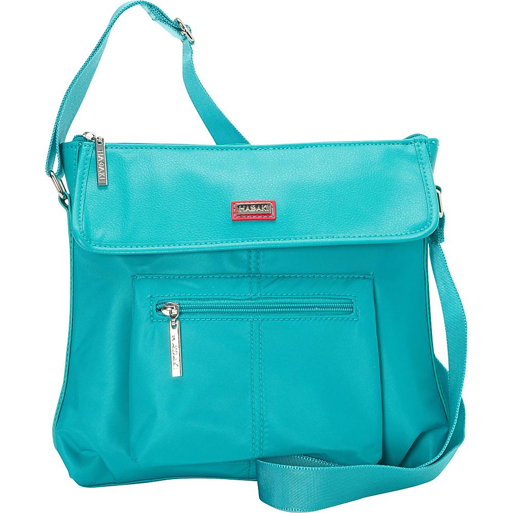 Hadaki Manhattan Crossbody Viridian Green - Hadaki Fabric Handbags - Handbags, Fabric Handbags