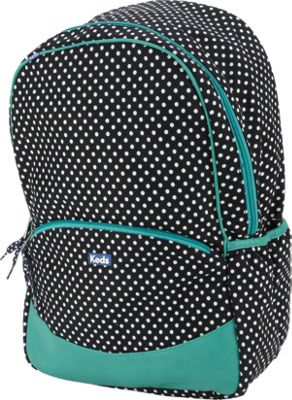 Keds Keds Basic Backpack Black Classic Dot - Keds Everyday Backpacks