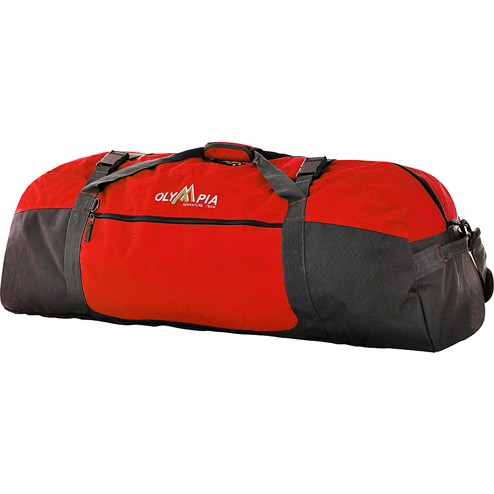 Olympia 21 Sports Duffel Reds Olympia Outdoor Duffels