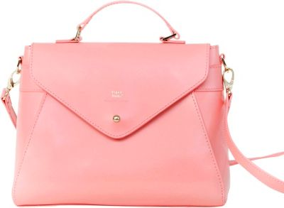 Paperthinks Top Handle Bag Pesca - Paperthinks Leather Handbags