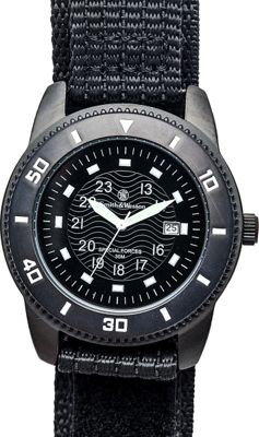 Smith & Wesson Watches Commando Watch with Nylon Strap Black - Smith & Wesson Watches Watches
