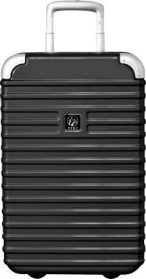 Travelers Club Luggage Orbit 20 inch Seat-On Carry-On Charcoal - Travelers Club Luggage Hardside Carry-On