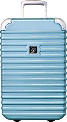 Travelers Club Luggage Orbit 20 inch Seat-On Carry-On Turquoise - Travelers Club Luggage Hardside Carry-On