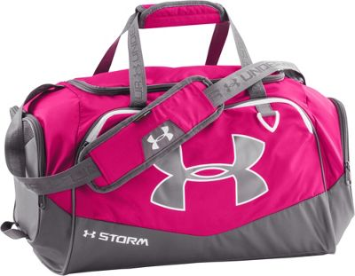 Under Armour Undeniable SM Duffel II Tropic Pink/Graphite/White - Under Armour All Purpose Duffels