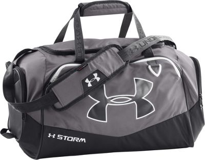 Under Armour Undeniable SM Duffel II Graphite/Black/White - Under Armour Gym Duffels 10366613