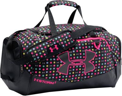 Under Armour Undeniable SM Duffel II Black/Red/Black - Under Armour Gym Duffels