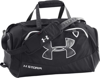 Under Armour Undeniable SM Duffel II Black/Black/White - Under Armour Gym Duffels