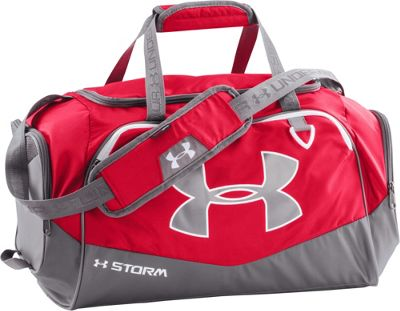 Under Armour Undeniable SM Duffel II Red/Graphite/White - Under Armour Gym Duffels