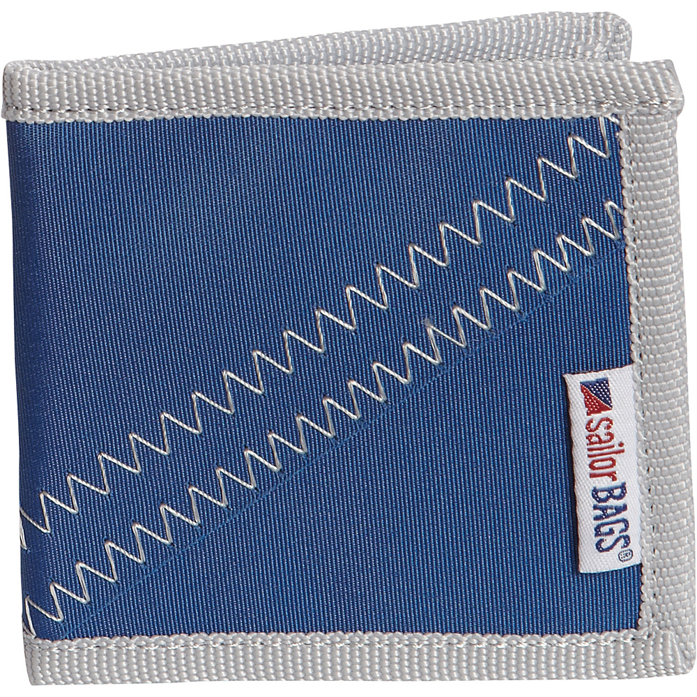 SailorBags Wallet Blue Grey SailorBags Men s Wallets
