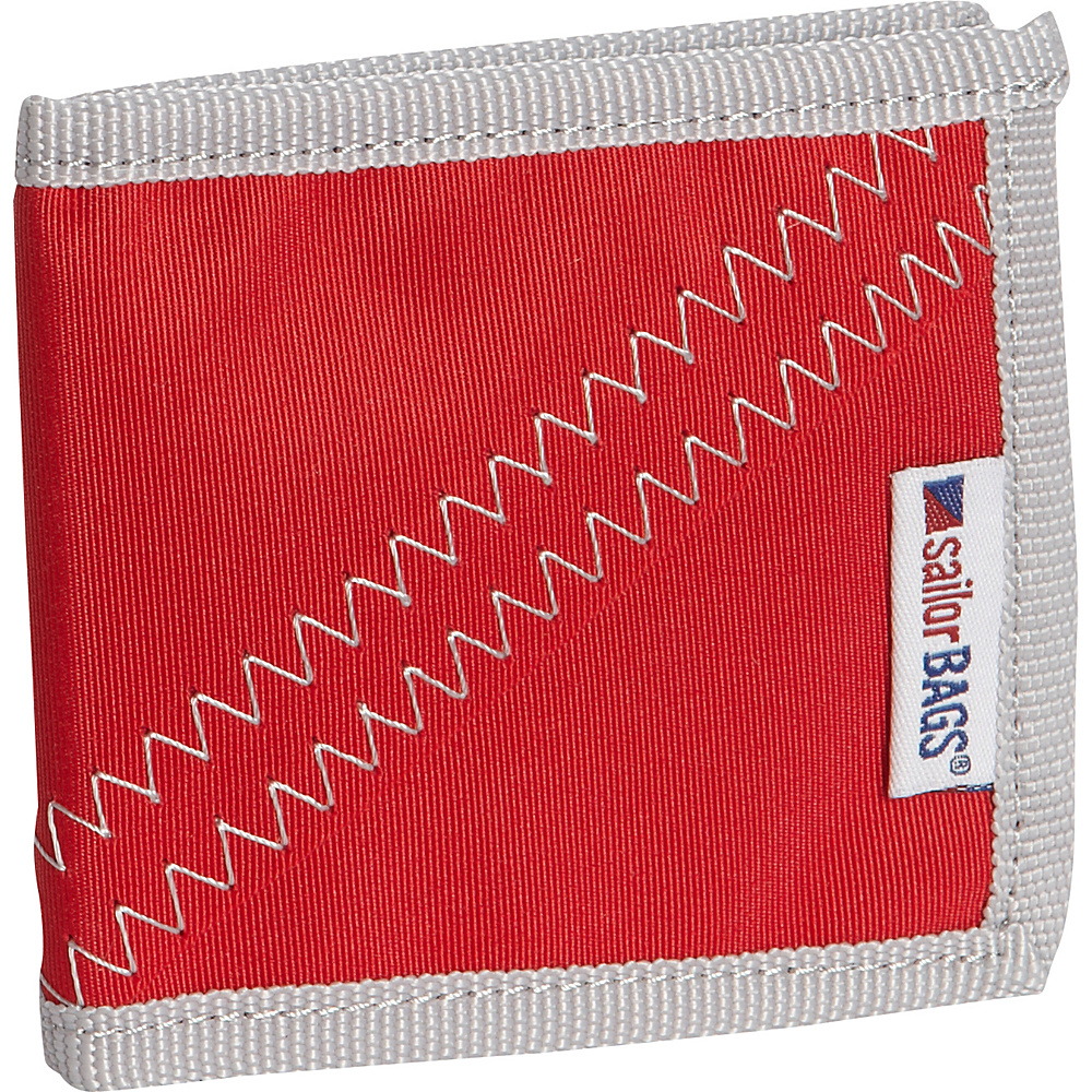 SailorBags Wallet Red Grey SailorBags Men s Wallets