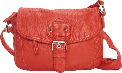 Ampere Creations The Kate Crossbody Blood Orange - Ampere Creations Manmade Handbags
