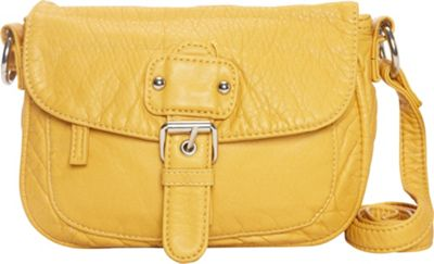 Ampere Creations The Kate Crossbody Mustard - Ampere Creations Manmade Handbags