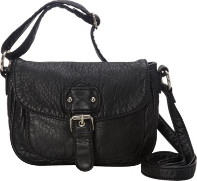 Ampere Creations The Kate Crossbody Black - Ampere Creations Manmade Handbags
