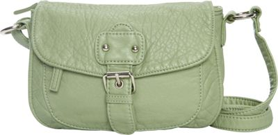 Ampere Creations The Kate Crossbody Seafoam Green - Ampere Creations Manmade Handbags