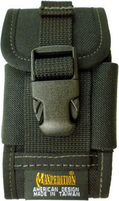 Maxpedition Clip-on PDA Phone Holster Black - Maxpedition Personal Electronic Cases