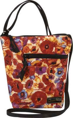 Donna Sharp Penny Bag Poppy Field - Donna Sharp Fabric Handbags