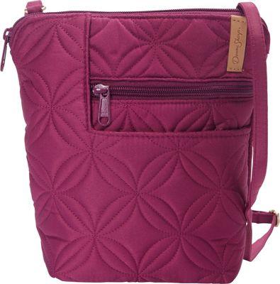 Donna Sharp Penny Bag Magenta - Donna Sharp Fabric Handbags