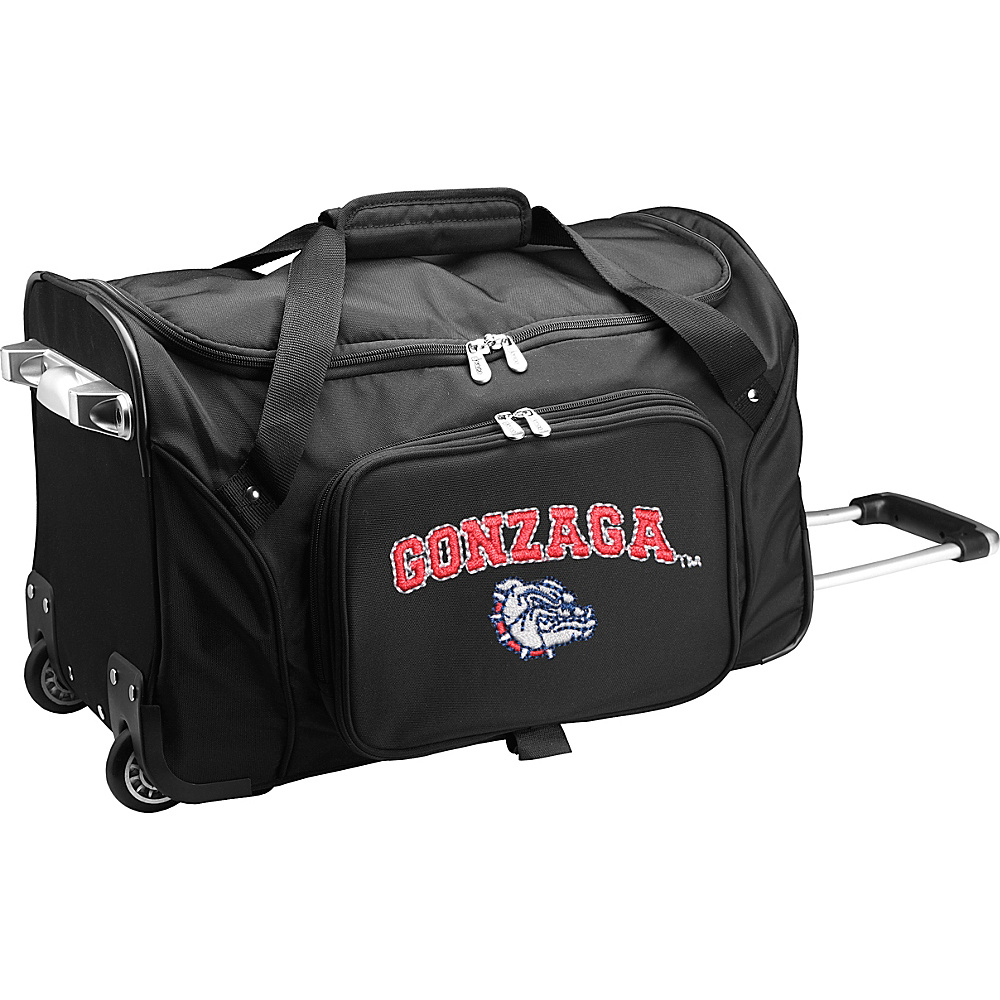 Denco Sports Luggage NCAA 22 Rolling Duffel Gonzaga University Bulldogs - Denco Sports Luggage Softside Carry-On - Luggage, Softside Carry-On