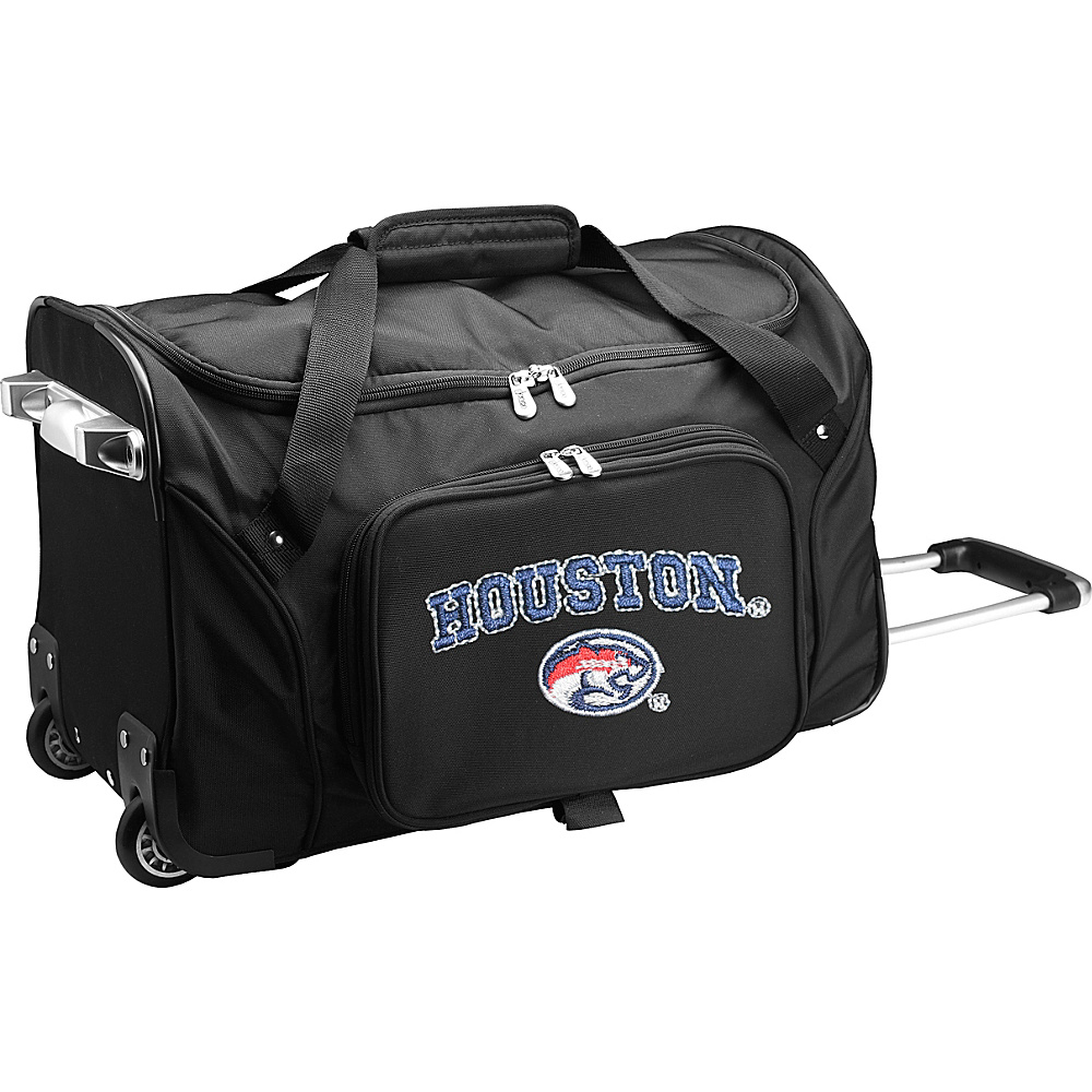Denco Sports Luggage NCAA 22 Rolling Duffel University of Houston Cougars - Denco Sports Luggage Softside Carry-On - Luggage, Softside Carry-On