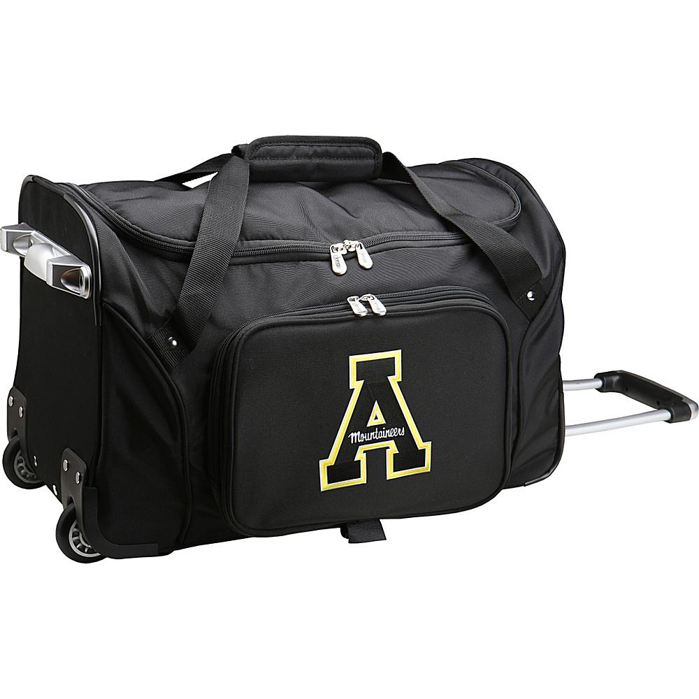 Denco Sports Luggage NCAA 22 Rolling Duffel Appalachian State University Mountaineers - Denco Sports Luggage Softside Carry-On - Luggage, Softside Carry-On