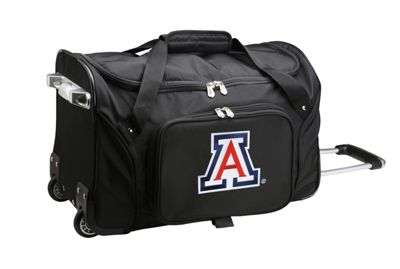 "Denco Sports Luggage NCAA 22"""" Rolling Duffel University of Arizona Wildcats - Denco Sports Luggage Softside Carry-On"