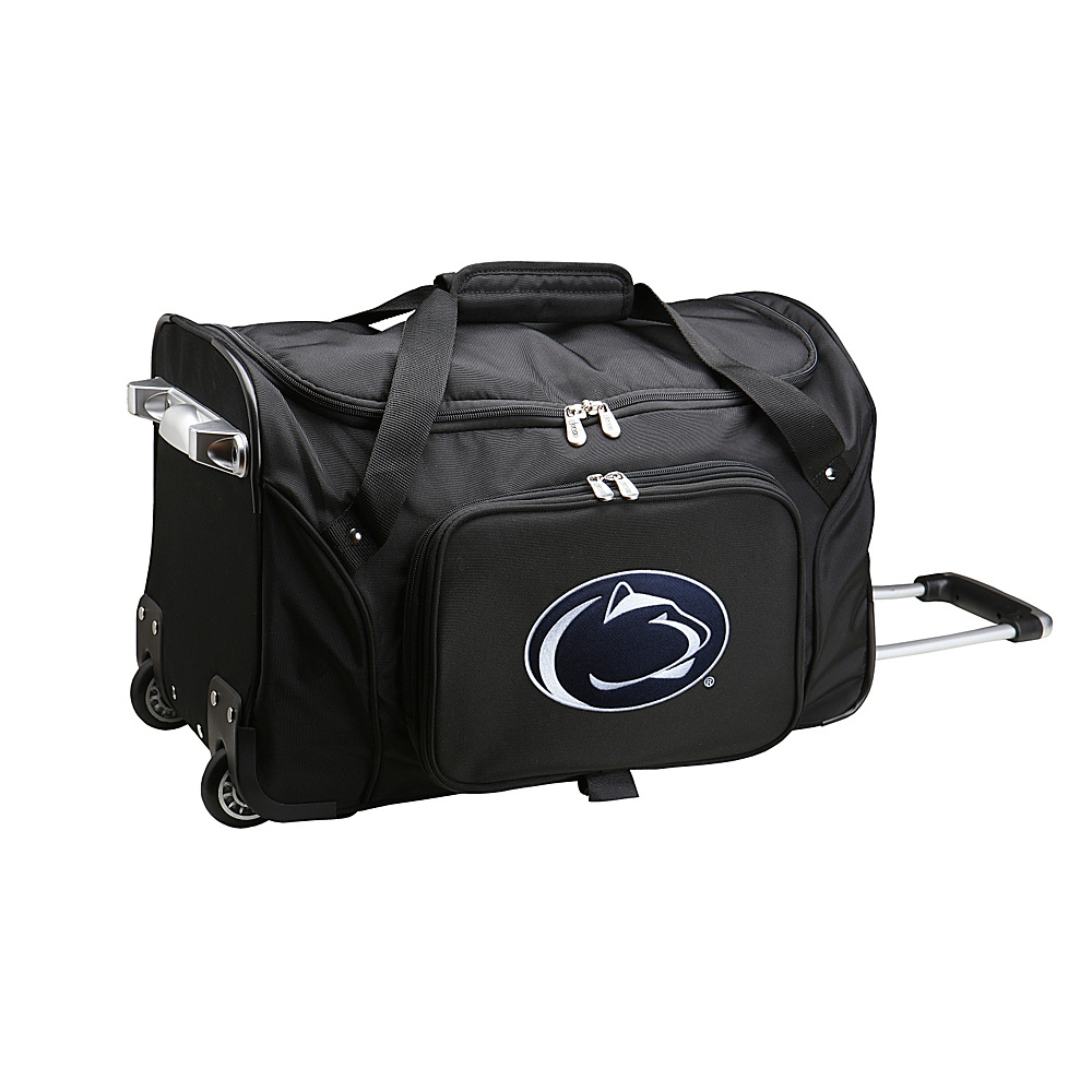 Denco Sports Luggage NCAA 22 Rolling Duffel Pennsylvania State University Nittany Lions - Denco Sports Luggage Softside Carry-On - Luggage, Softside Carry-On