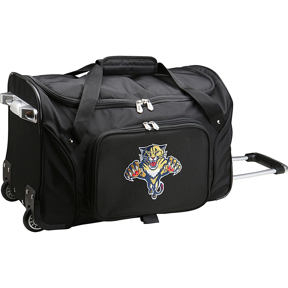 Denco Sports Luggage NHL 22 Rolling Duffel Florida Panthers - Denco Sports Luggage Rolling Duffels - Luggage, Rolling Duffels
