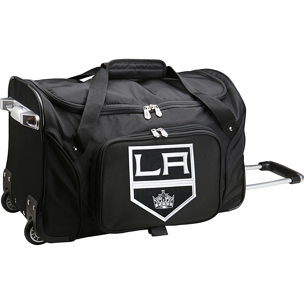 Denco Sports Luggage NHL 22 Rolling Duffel Los Angeles Kings - Denco Sports Luggage Rolling Duffels - Luggage, Rolling Duffels