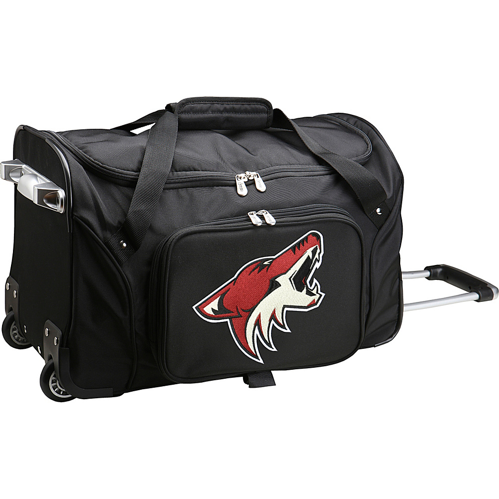 Denco Sports Luggage NHL 22 Rolling Duffel Phoenix Coyotes - Denco Sports Luggage Rolling Duffels - Luggage, Rolling Duffels